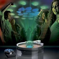Lightcast interactive music light show