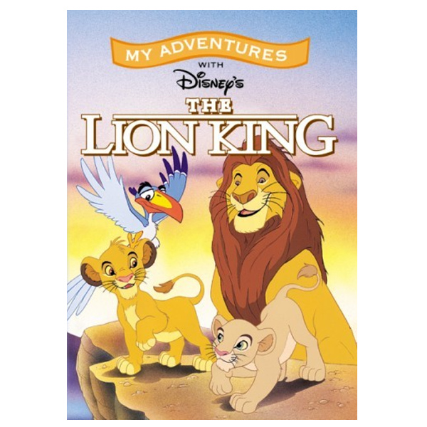 The Lion King Personalised Childrens Book - Children's Birthday Your Kids Bday - 7th Birthday