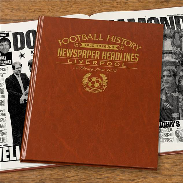 Personalised Liverpool Football Book Nonembossed