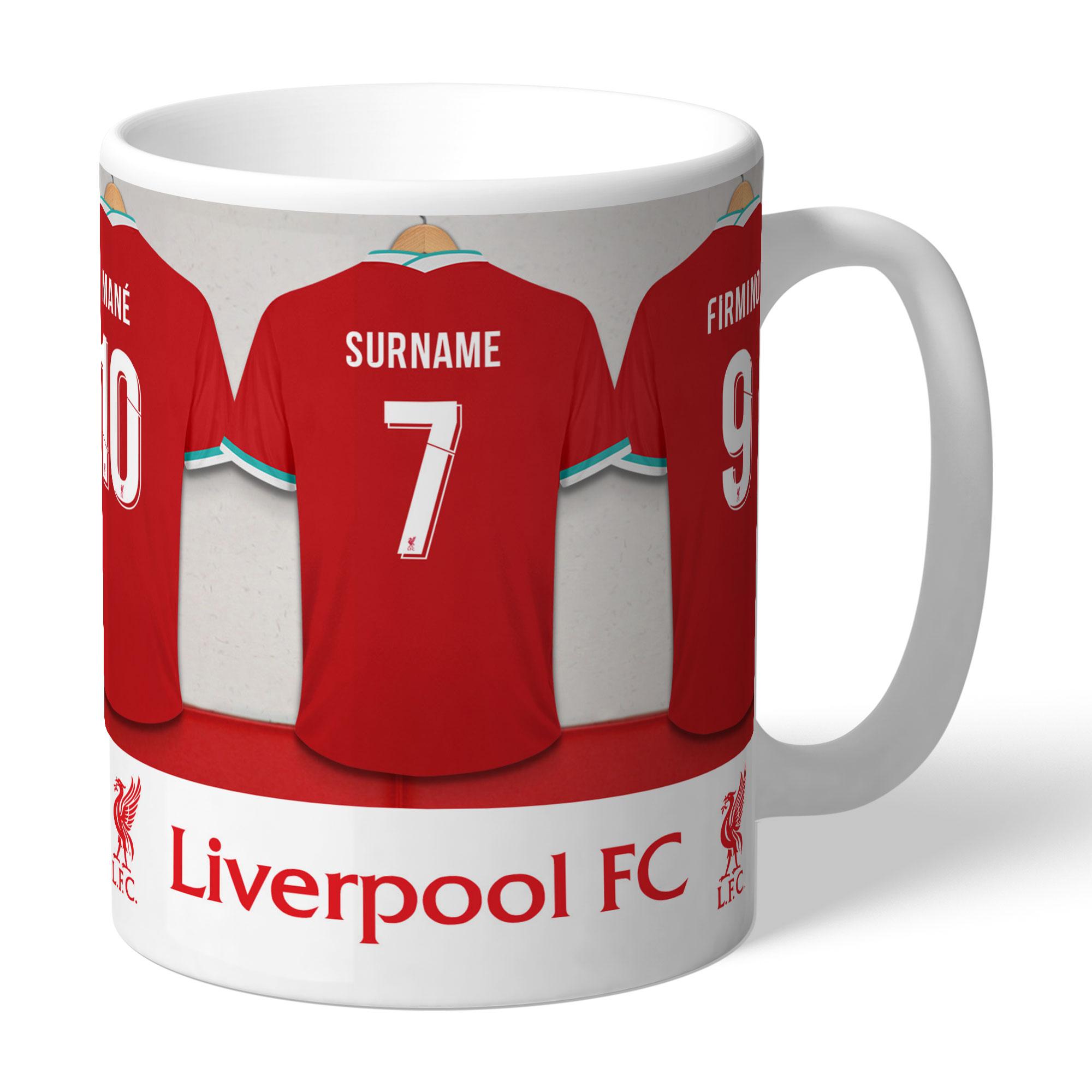 Personalised Liverpool Dressing Room Mug - Liverpool Gifts