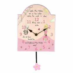 Little Miss Muffet Wall Clock