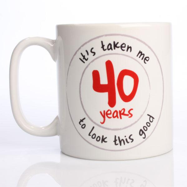 Looking Good Personalised Birthday Mug