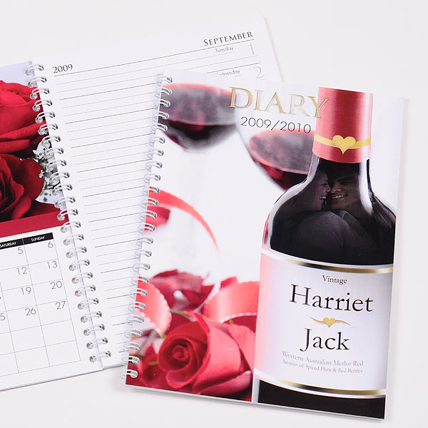 Personalised Love and Romance Diary - Romance Gifts