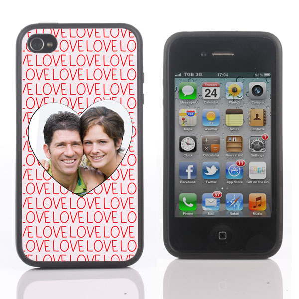 Personalised Love iPhone Cover for 4, 4S or 5 - Iphone Gifts