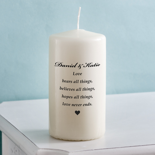 Unity Candle - Love Bears All - Bears Gifts