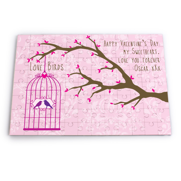 Personalised Bird Cage Jigsaw Puzzle - Jigsaw Puzzle Gifts