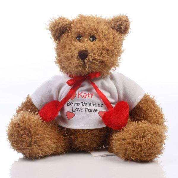 Personalised Valentines Teddy