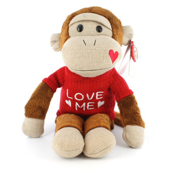 Monkey with Love Me T-Shirt Monkey with Pink T-shirt - Monkey Gifts