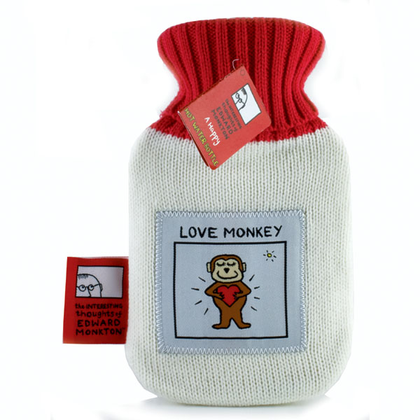 Love Monkey Hot Water Bottle