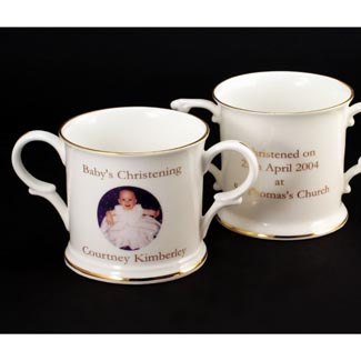 Bone China Loving Cup Baptism
