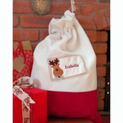 Luxury Personalised Christmas Sack