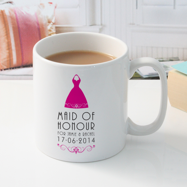 Personalised Maid of Honour Mug - Maid Of Honour Gifts