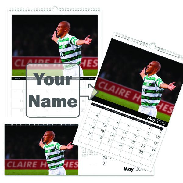 Personalised Celtic Legends Calendar Desktop
