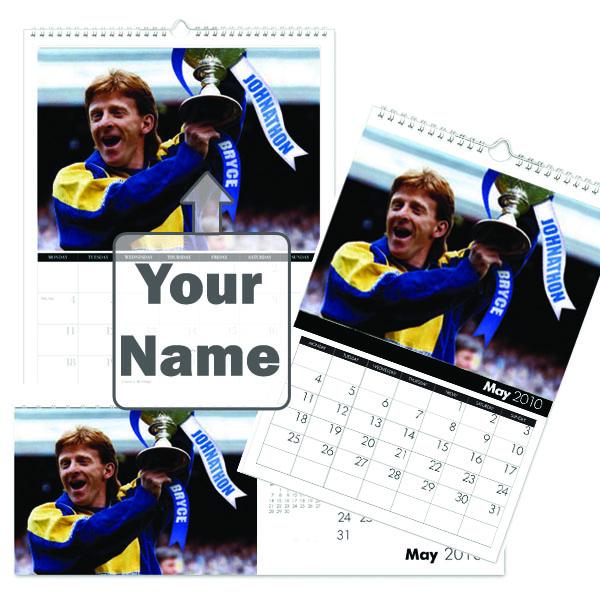 Personalised Leeds Legends Calendar A5