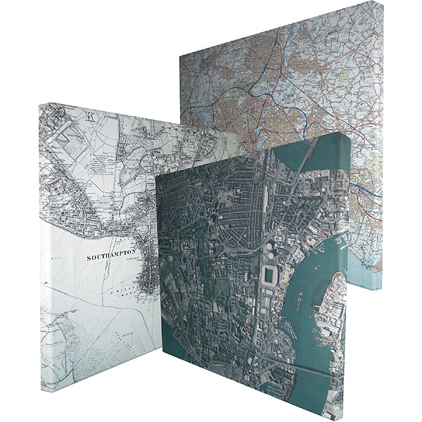 Map Canvases Aerial Photography