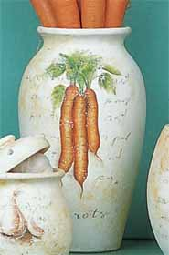 Country Kitchen Vase 23cm