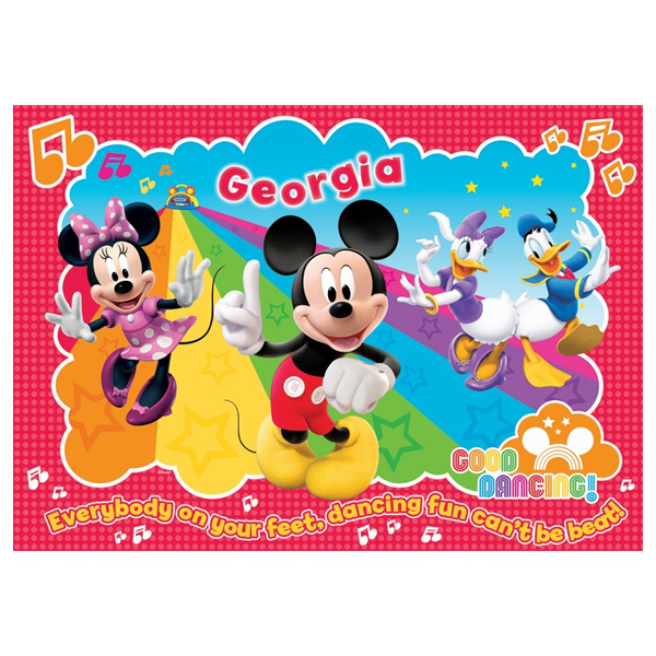 Mickey Mouse Clubhouse Personalised Placemat