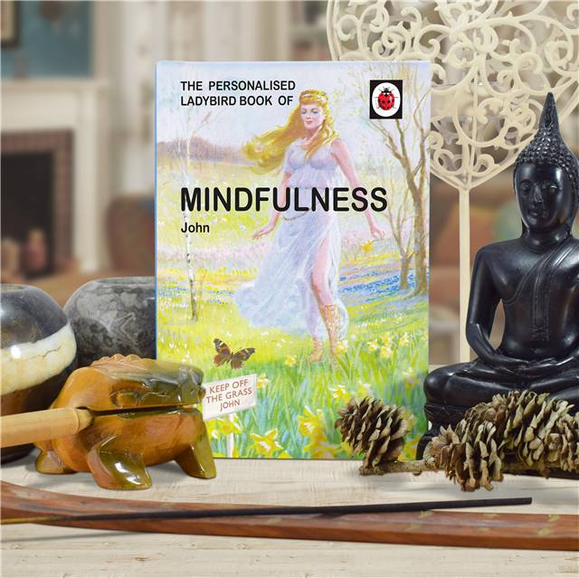 Personalised Ladybird Books For Adults - Mindfulness Mindfulness for Her - Books Gifts