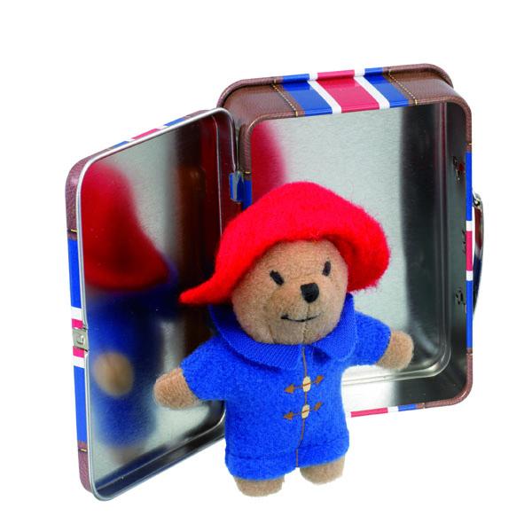 Mini Paddington Bear In Union Jack Suitcase - Union Jack Gifts