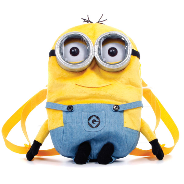 Despicable Me 2 Minions Plush Backpack - Backpack Gifts