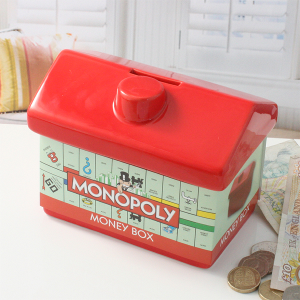 Monopoly Money Box - Monopoly Gifts