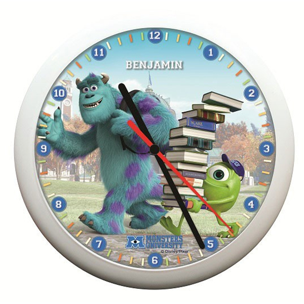 Personalised Monsters University Clock - University Gifts
