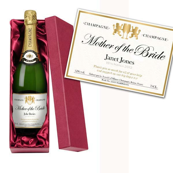 Mother of the Bride Personalised Champagne Luxury Gift Box