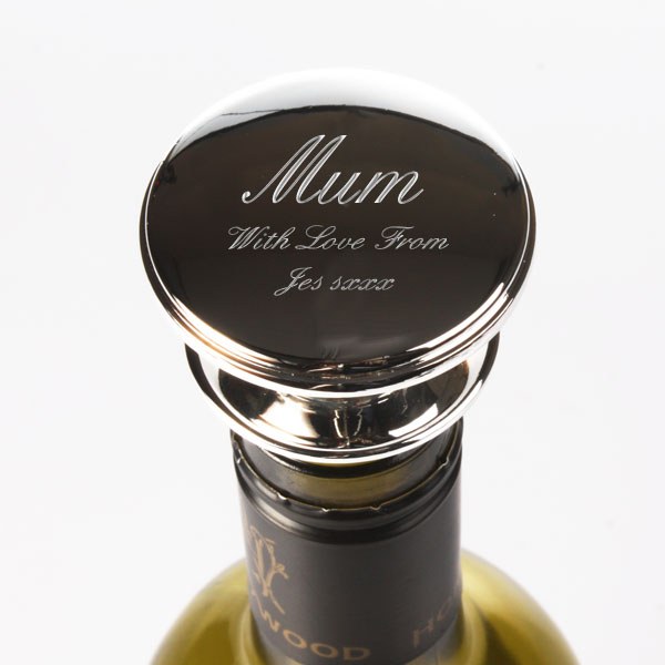 Mother's Day Personalised Wine Bottle Stopper