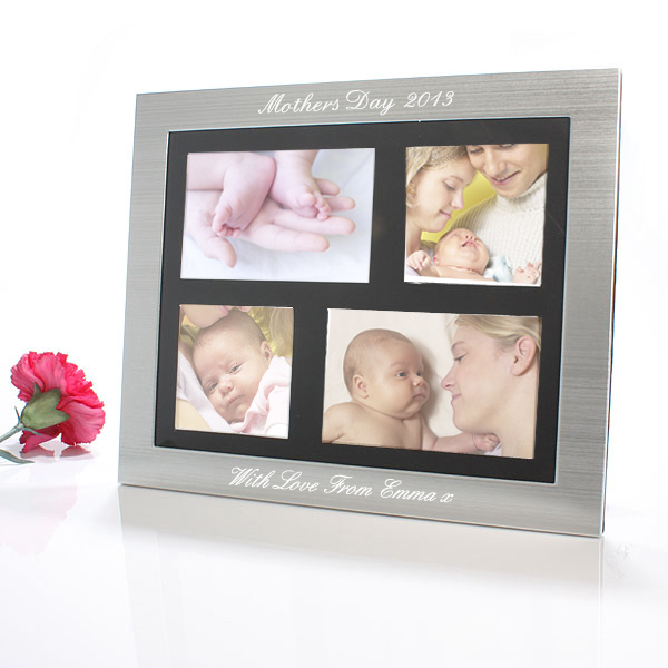 Mother`s Day - Engraved Collage Photo Frame