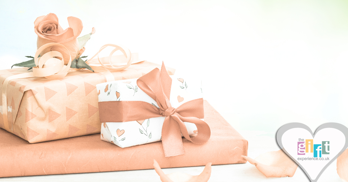 Beautifully wrapped Mother's Day Gifts