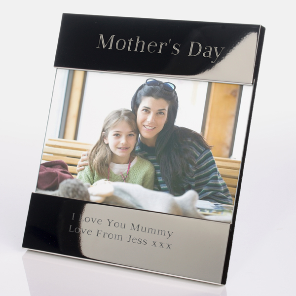 Engraved Mother`s Day Photo Frame