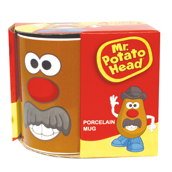 Mr Potato Head Porcelain Mug