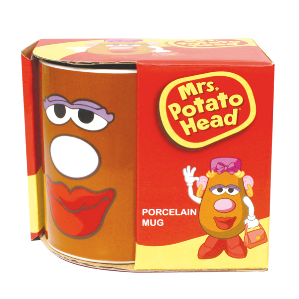 Mrs Potato Head Porcelain Mug