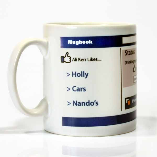 MugBook - Your Own Personalised Social Mug - Social Gifts