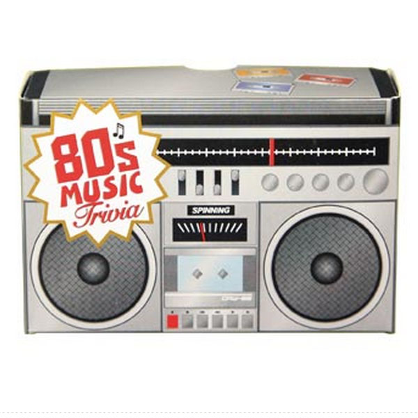 Music Trivia 80s - 80s Gifts