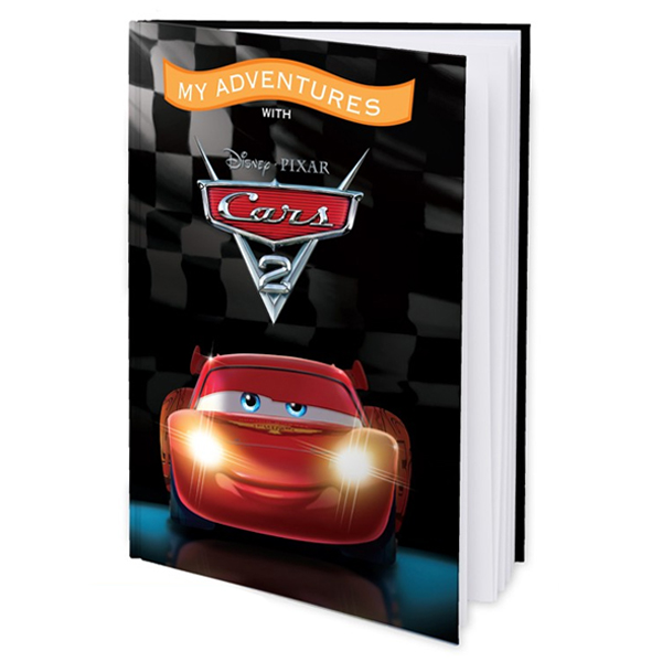 My Adventures with Disney Pixar Cars 2 - Hard Cover