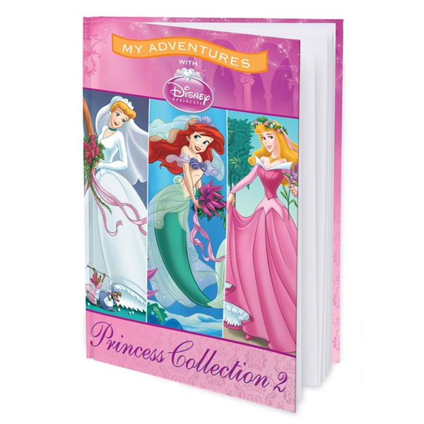 My Adventures with Disney Princess Collection 2 - Personalised ard Cover Book
