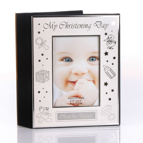 Engraved My Christening Day Photo Album - Christening Gifts