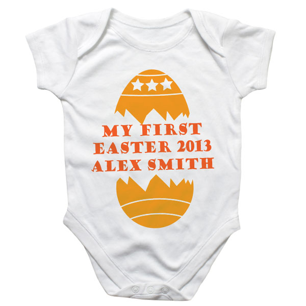 My First Easter Personalised Baby Grow