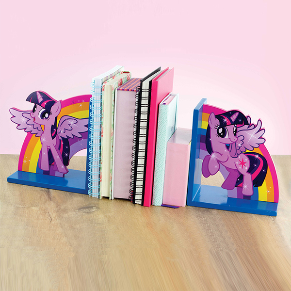 My Little Pony Twilight Sparkle Wooden Bookends - My Little Pony Gifts