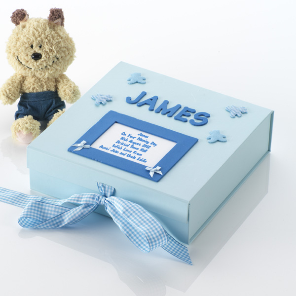 Personalised Naming Day Memory Box Large - Naming Day Gifts