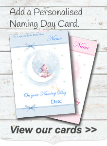 Personalised Naming Day Cards
