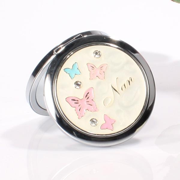 Butterflies Nan Compact Mirror - Nan Gifts