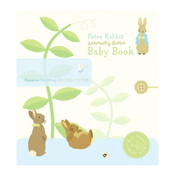 Peter Rabbit Naturally Better Baby Book - Peter Rabbit Gifts