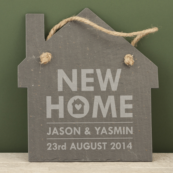 Personalised New Home Slate House