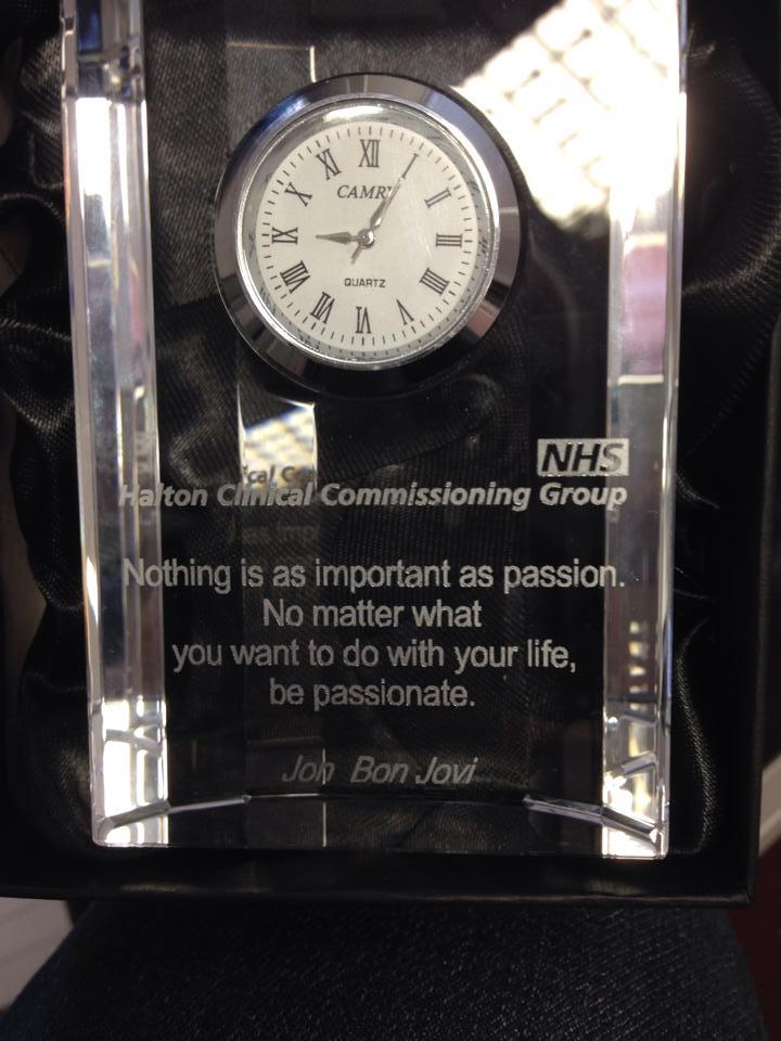 Mantel Clock NHS