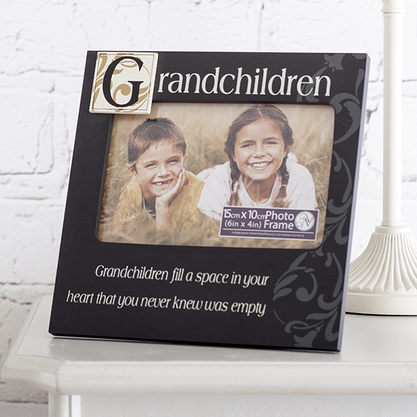 Grandchildren Fill a Space in your Heart Photo Frame - Grandchildren Gifts