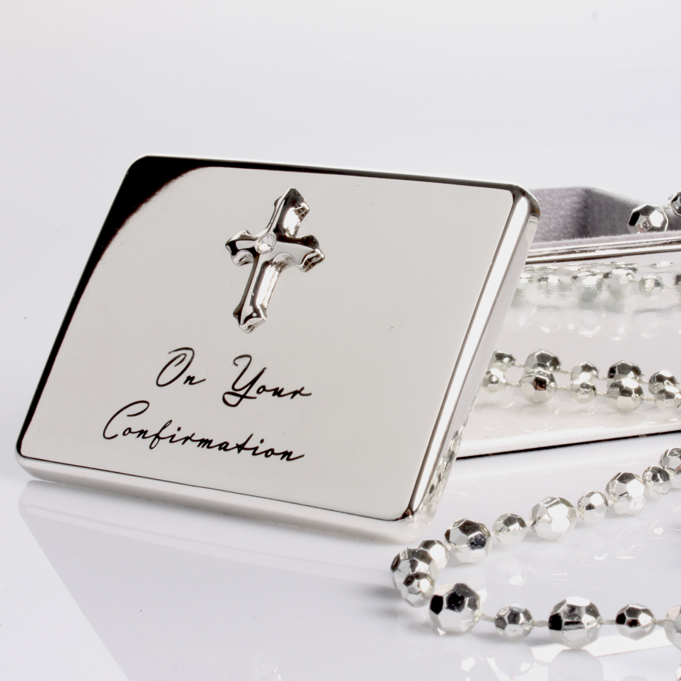 Engraved On Your Confirmation Treasure Box - Engraved Gifts