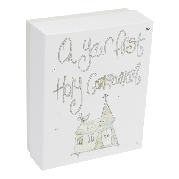 On Your First Holy Communion Keepsake Box - First Holy Communion Gifts