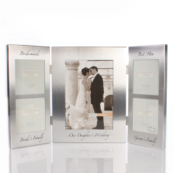 Our Daughters Wedding Photo Frame